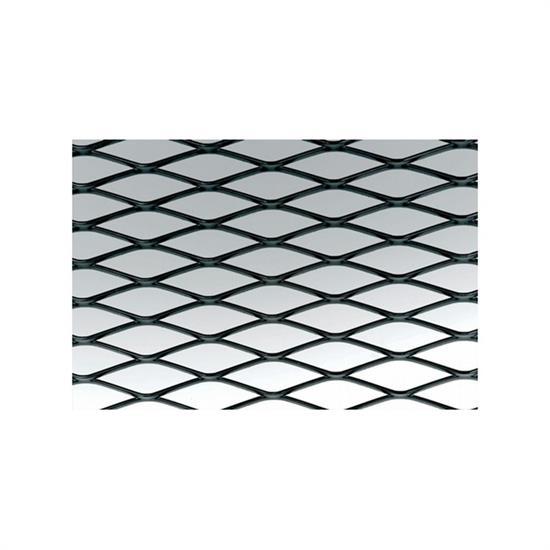Mesh black aluminium 100x30 cm wide
